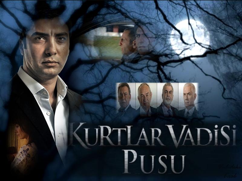 Турецкий сериал Kurtlar Vadisi Pusu 1 sezon онлайн смотреть онлайн