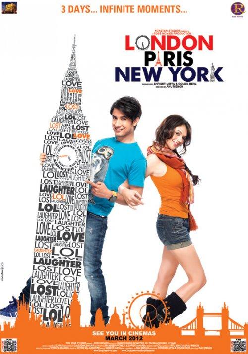 Лондон, Париж, Нью-Йорк (2012) смотреть онлайн